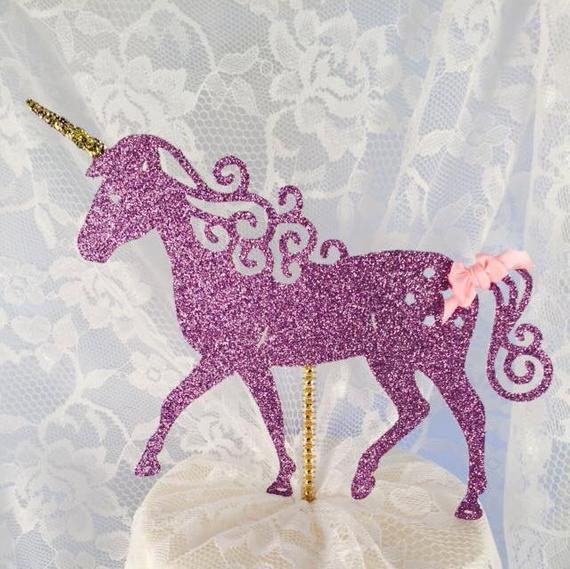 Unicorn Cake Topper Unicorn Party Decorations Unicorn