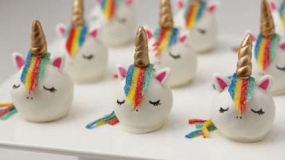 Unicorn Cake Truffles Recipe