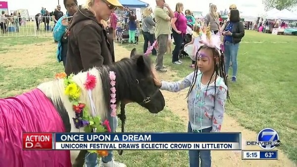 Unicorn Festival Draws Crowd In Littleton