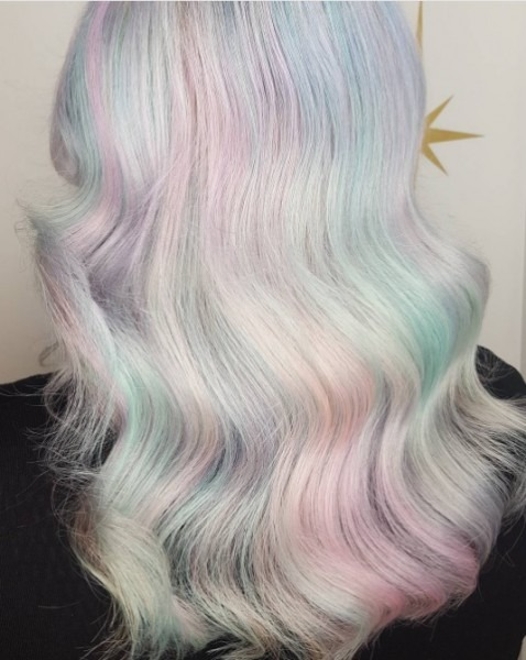 Unicorn Frappuccino Hair Is Now A Thing Thanks To This Canadian