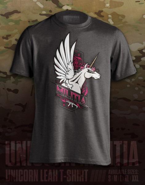 Unicorn Militia' T