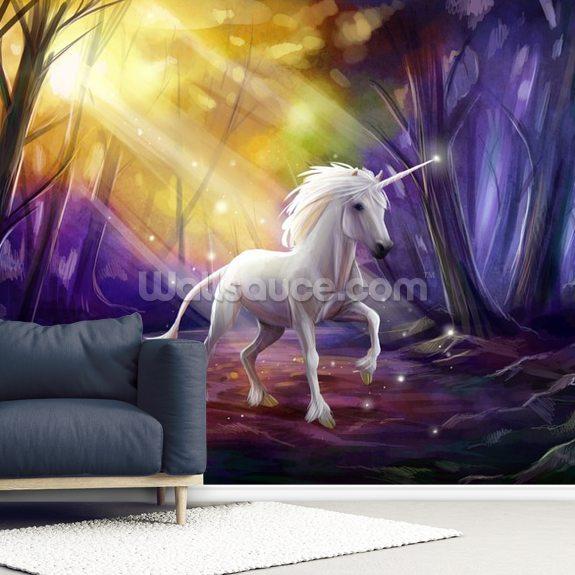 Unicorn Path Wall Mural Wallpaper