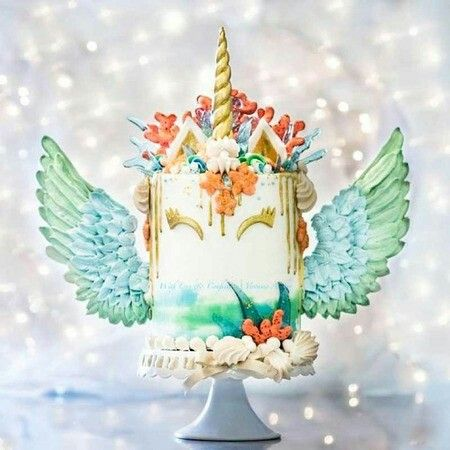 Unicorn Pegasus Cake  (fiesta Party Foods Birthday Cakes