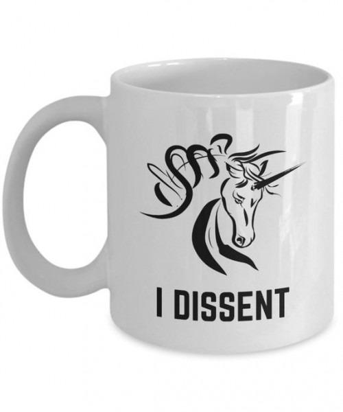 Unicorn Rbg I Dissent Coffee Mugs Tea Cup Mg1800