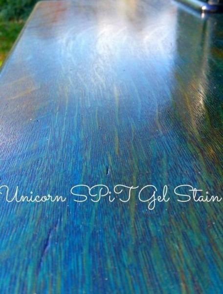 Unicorn Spit Gel Stain In Blue Thunder Colour