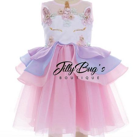 Unicorn Tulle Dress