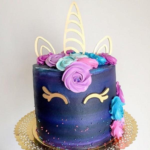 Unicorn Wedding Cake Topper,event & Party Decorations,acrylic