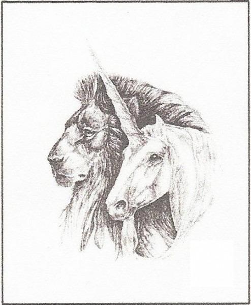 Unicorn With Lion