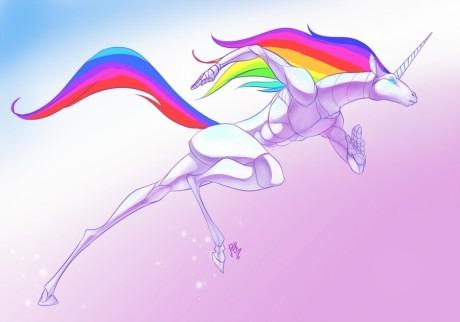 Unicorns And Rainbows On