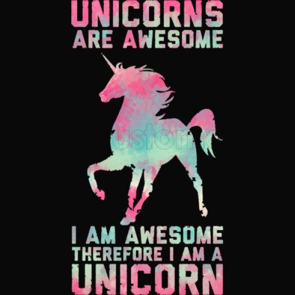 Unicorns Are Awesome Kids Sweatshirt