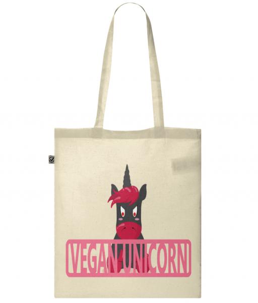 Unicorns Are Vegan Tote Bag
