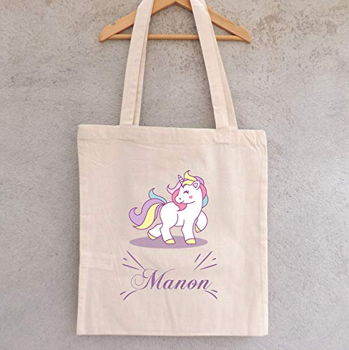 Unicorn's Tote Bag To Personalize  Amazon Co Uk  Handmade