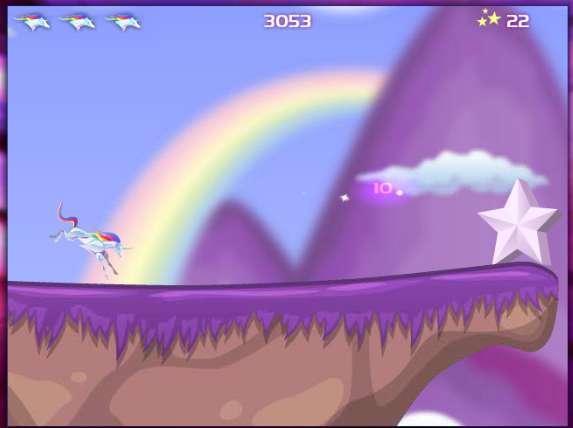 Viral Mythical Video Games   Robot Unicorn Attack Evolution