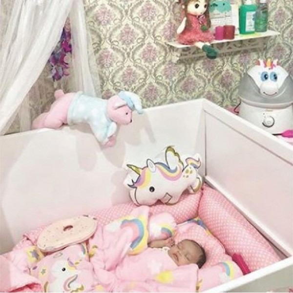 We Love Everything About @saharzade 's Unicorn Themed Nursery