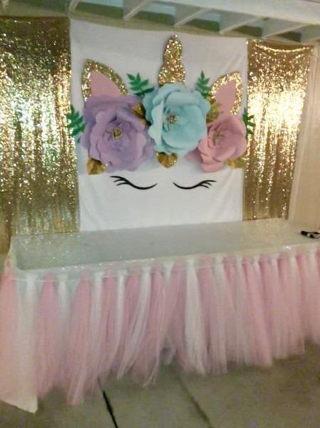 5th Birthday Party Ideas, Unicorn Birthday Parties, Unicorn Party