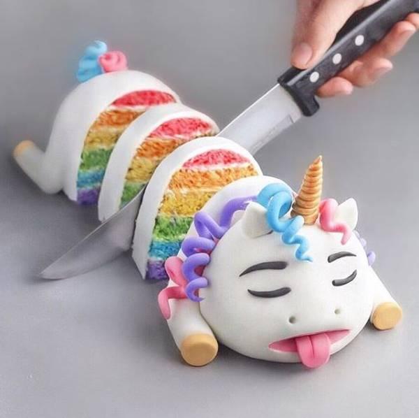 Adorable Dead Unicorn Cake [pic]