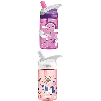 Amazon Com   Camelbak Kids Eddy Water Bottle, 0 4 L, Unicorns Eddy