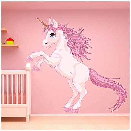 Amazon Com  Azutura Unicorn Wall Sticker Fantasy Fairy Tale Wall