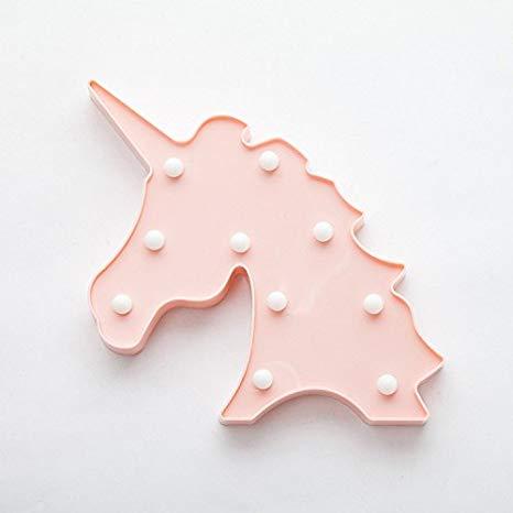 Amazon Com  Erxvxp Decorative Marquee Signs Unicorn Led Lights