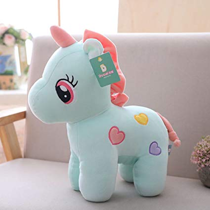 Amazon Com  Hoods Unicorn Plush Toys Stuffed Unicorn Doll For Kids