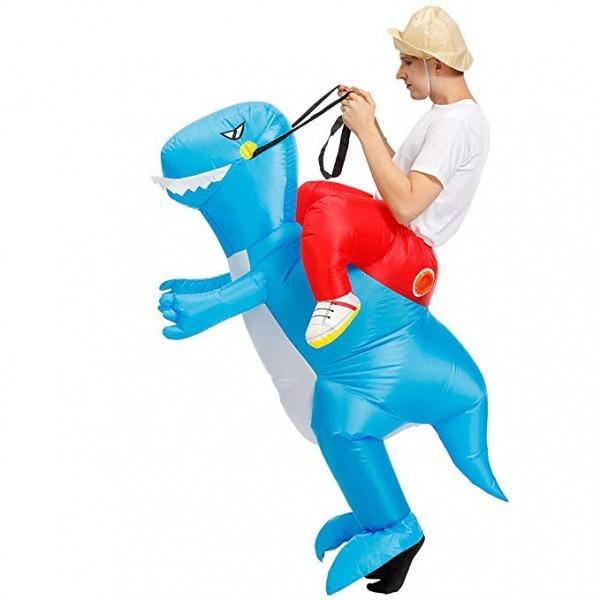 Amazon Com  Inflatable Rider Costume Riding Me T
