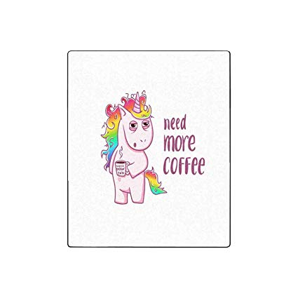Amazon Com  Interestprint Unicorn Needs A Coffee, Good Morning