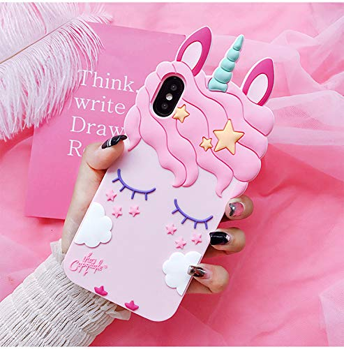 Amazon Com  Iphone Xr Case Cover,stingna 3d Silicon Unicorn