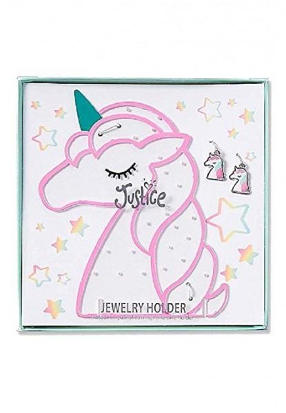 Amazon Com  Justice Girls Unicorn Mini Jewelry Holder Set  Home