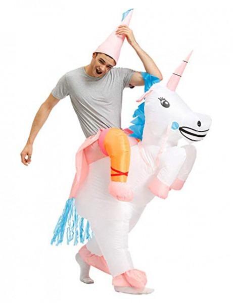Amazon Com  Kooy Inflatable Unicorn Costume Inflatable Halloween