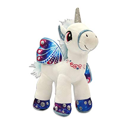 Amazon Com  Novelty, Inc  10  Plush Magical Unicorn Pony Stuffed