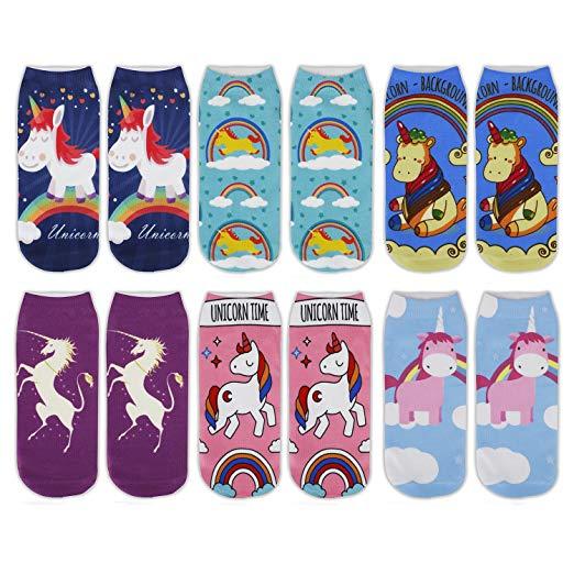Unicorn Socks Womens