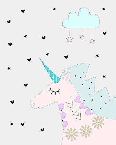 Amazon Com  Nursery Print  Unicorn Art  Unicorn Nursery Art