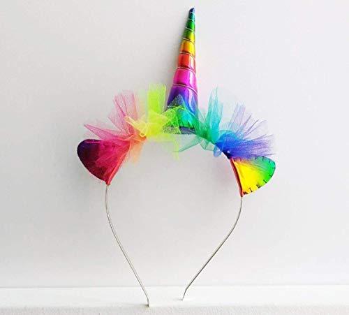 Amazon Com  Rainbow Unicorn Headband