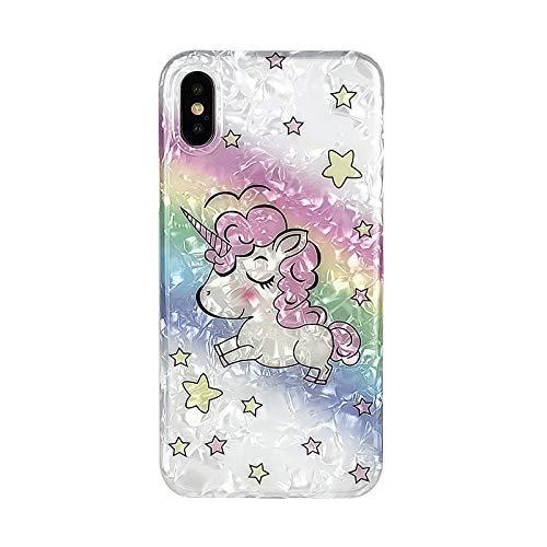 Amazon Com  Rainbow Unicorn Iphone Xs Case,iphone X Case,awin Case