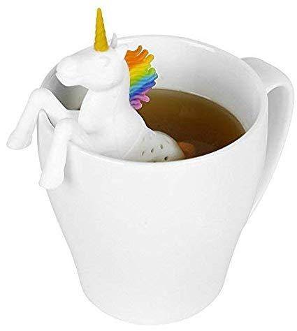 Amazon Com  Silicone Tea Infuser For Loose Leaf Tea, Unicorn