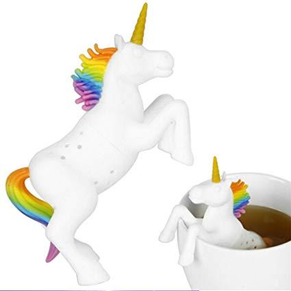 Amazon Com  Songlin White Unicorn Silicone Tea Infuser Loose Tea