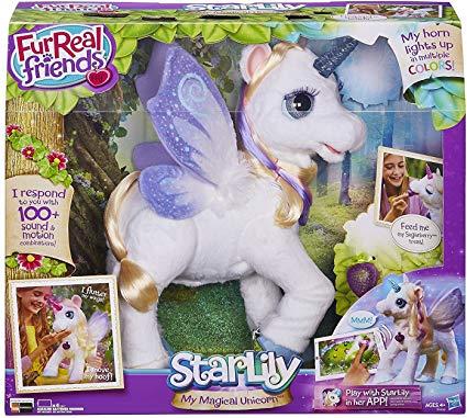 Amazon Com  Twisti Furreal Friends Star Lily My Magical Unicorn