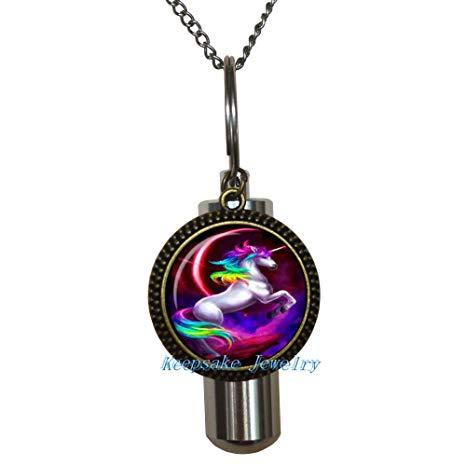 Amazon Com  Unicorn Cremation Necklace Jewelry