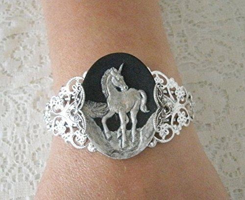Amazon Com  Unicorn Cuff Bracelet, Handmade Jewelry Victorian