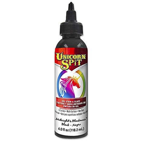 Amazon Com  Unicorn Spit 5770010 Gel Stain And Glaze, Midnight's