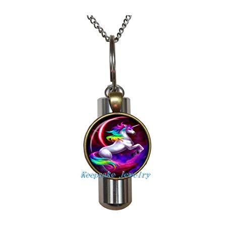 Unicorn Urn Necklace