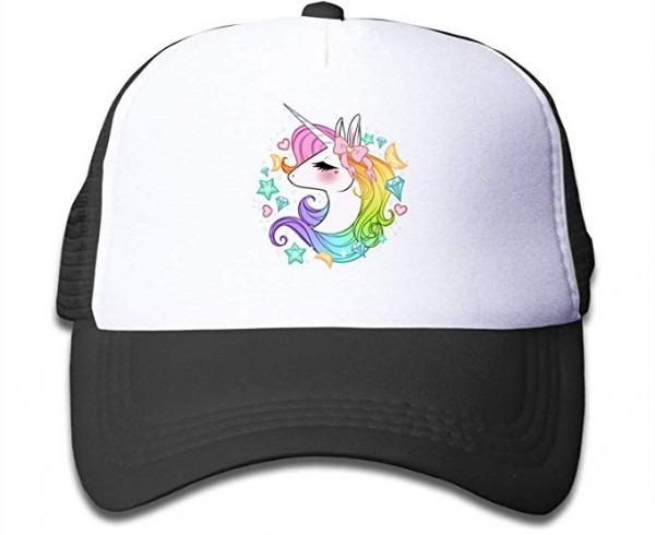 Amazon Com  Waldeal Cute Unicorns Kids Girls Mesh Caps Trucker