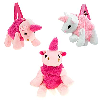 Amazon Com  Wholesale Kids Mini Plush Unicorn Handbag In 2