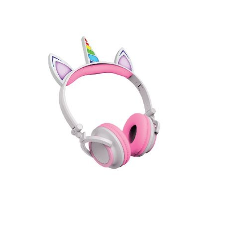 Art+ Sound Unicorn Wired Headphones With Led Lights