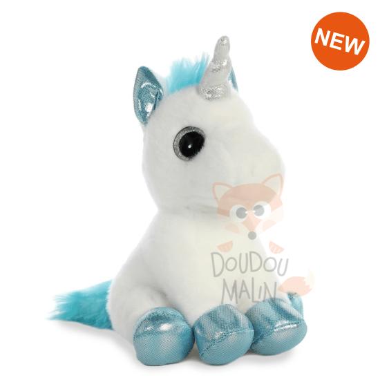 Aurora Aurora Soft Toy Unicorn Blue