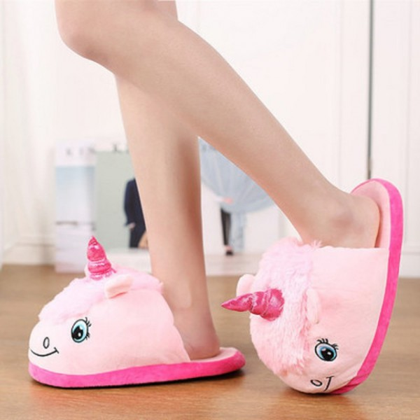 Baby Unicorn Slippers Toddler Boy Slippers Winter Unicorn Shoes