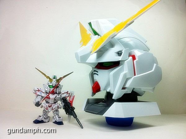 Banpresto Gundam Unicorn Head Display Unboxing Review (56)…