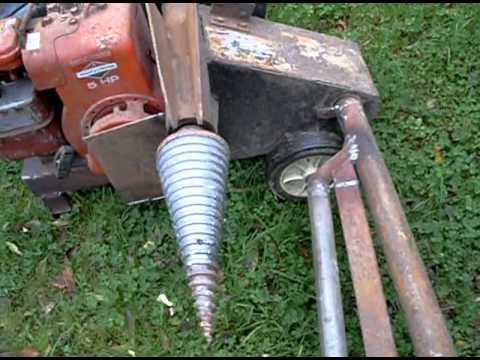 Bark Buster Petrol Engine Wood Log Splitter