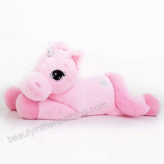Best Made Toys Jumbo Plush Animal, Large 47  Unicorn Stuffed
