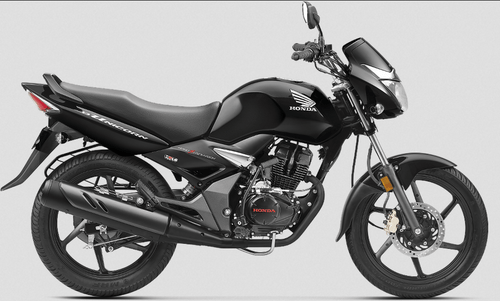 Black Honda Cb Unicorn Motorcycle, Cannanore Honda